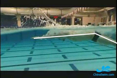 蛙泳身体姿势 蛙泳的正确腿姿势图解 蛙泳姿势动画图解
